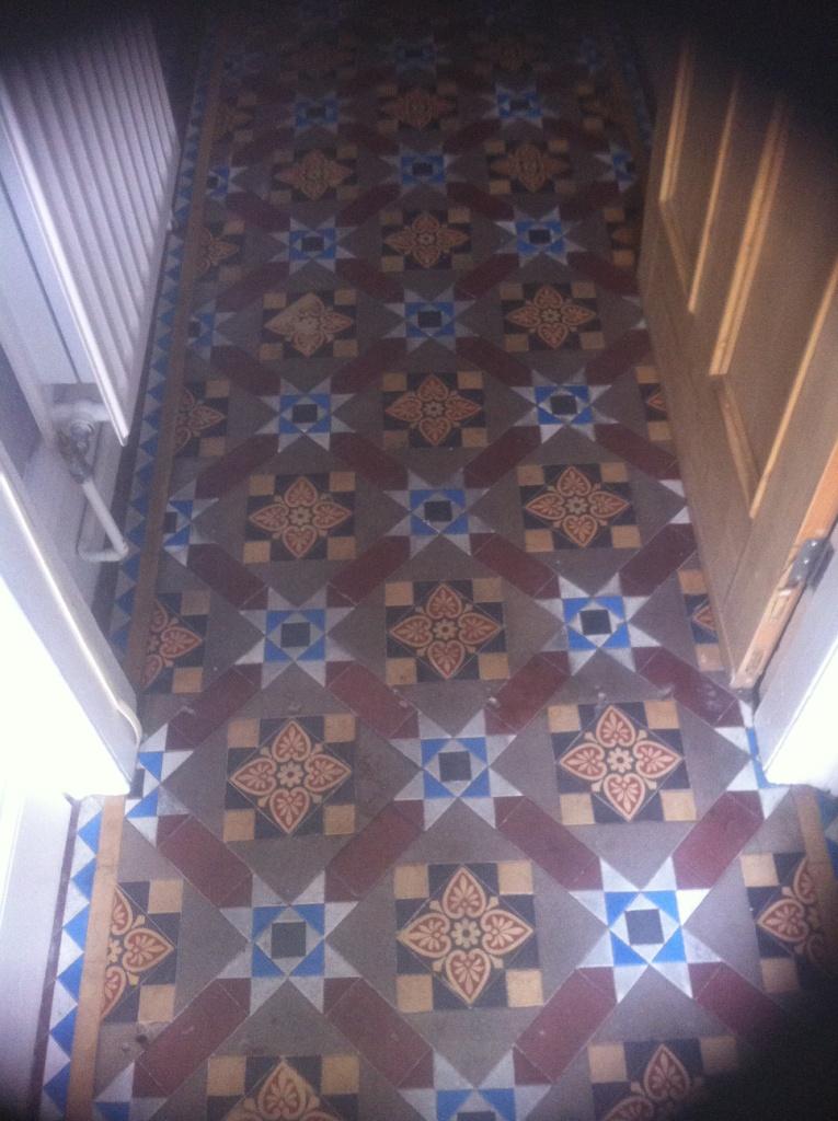 Victorian Floor Before Restoration